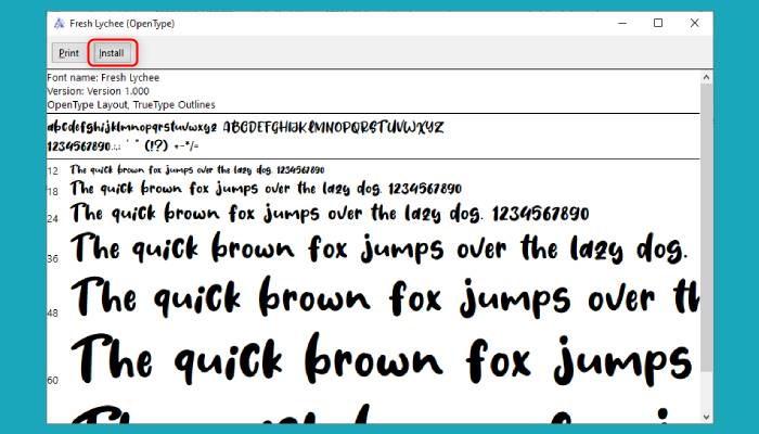 Cara Menambah Font Di Word 2010