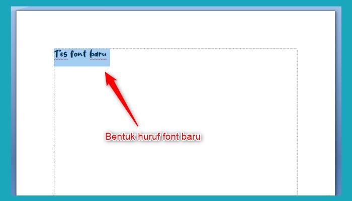 Cara Menambah Font Di Word Dari Dafont
