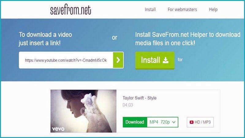 Download Video Instagram Melalui Situs Savefromnet