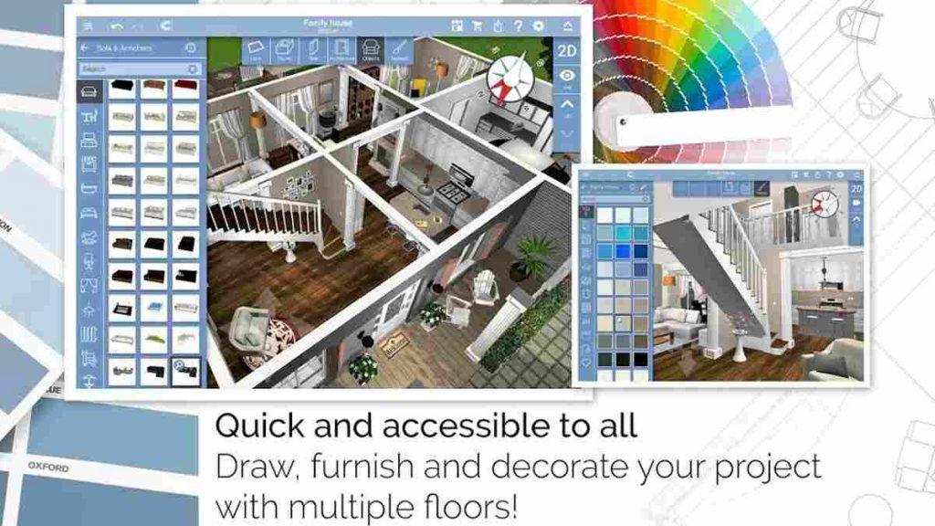 Aplikasi Desain Rumah Android Homedesign3d