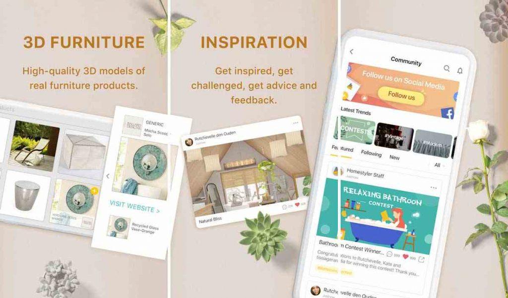 Aplikasi Desain Rumah Android Homestyler