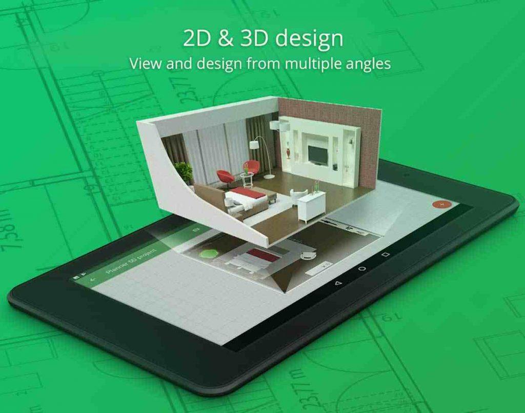Aplikasi Desain Rumah Android Planner5d